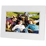 'Braun DigiFrame 710Digitaler Bilderrahmen 7Zoll für kontinuierliche digitalen Fotos in Format JPEG, Auflösung 800x 480Pixel, Verhältnis 16: 9, Weiß