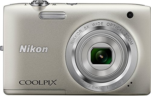 Nikon Coolpix S2800 20. 1 MP Point & Shoot Digital Camera with 5X Optical Zoom International Version, Silver  available at amazon for Rs.30543