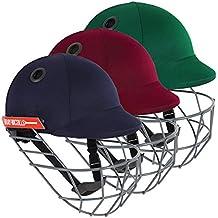 GRAY-NICOLLS Atomic Cricket Helmet, Green, Junior