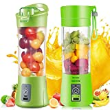 ShoppoWorld New Design Portable Battery Operated Juice Blender Rechargeable Fruits Mixer Bottle
