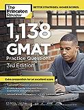 1,138 GMAT Practice Questions (Graduate School Test Preparation)