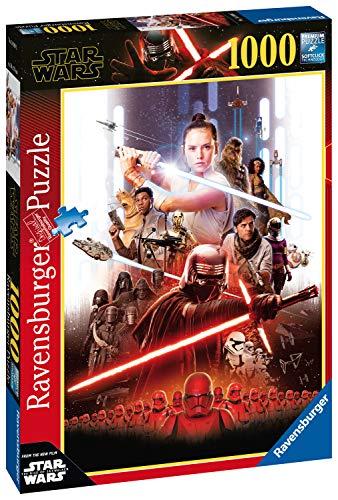 Ravensburger - Puzzle Star Wars 9 A, 1000 piezas, Disney (14990)