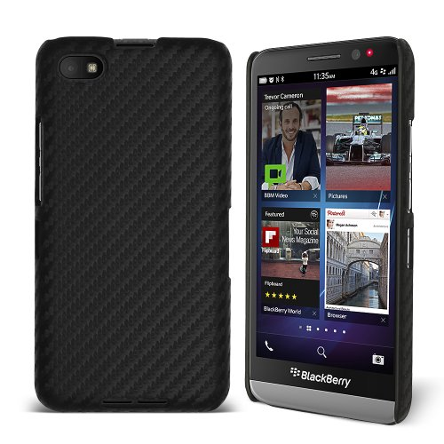 Celicious® Slender CF - Hülle Karbonfaser-Handyschale für BlackBerry Z30 – Carbon Fibre