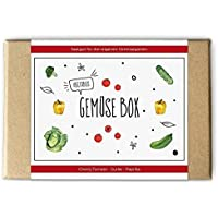 Gemüse Box: Saatgut und Samen für Garten und Küche / Anzucht, Tomaten, Gurken, Paprika