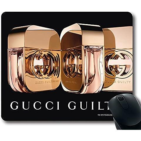 Custom-Tappetino per Mouse Gaming con profumo Gucci Guilty per il