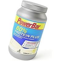 PowerBar Casein Whey Protein-Pulver – Protein Plus 80% – Eiweißpulver ohne Farbstoffe und Aspartam – Protein Shake – 700g Vanille