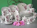 Creatable 18464 Serie Square Orchidee, Kombiservice 50 teilig