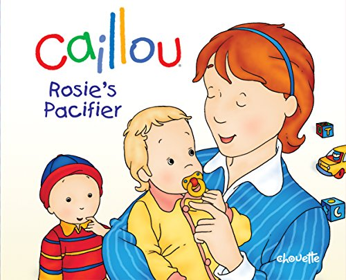 Caillou Rosie's Pacifier