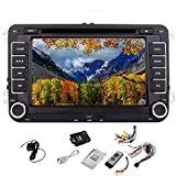 Video Pupug DVD GPS Logo Video Stereo Radio Headunit Per AUX VW Golf di Volkswagen Amarok T5 Jetta Video EOS Caddy Polo 7 pollici PC Auto Radio CD ricevitore 2DIN Player Multi-Media