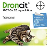 Droncit Spot On Tubes For Cats