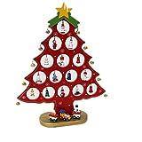 Colleer Albero di Natale Decorazione DIY Ornamenti Staccabili Regali per Bambini