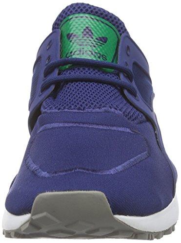 adidas Originals Racer Lite Unisex-Erwachsene Low-Top Blau (Oxford Blue F15-St/Oxford Blue F15-St/Green)