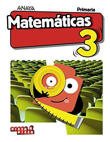 Matemáticas 3. (Pieza a Pieza) por Luis Ferrero de Pablo