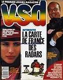 VSD [No 554] du 14/04/1988 - AUTOROUTES - LA CARTE DE FRANCE DES RADARS - CHIRAC - MES VRAIES PASSIONS - 180 MILLIONS POUR - LES SECRETS DU SAHARA - FEUILLETON TF1 - ANDY MACDOWELL - L'ENIGME RAPHAEL - UN SUPER MICROSCOPE AU SERVICE DES ENQUETEURS POUR EVITER UNE NOUVELLE AFFAIRE VILLEMIN -...