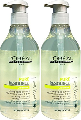 Loreal 2 er Pack Loreal Serie Expert Pure Resource Shampoo 500ml