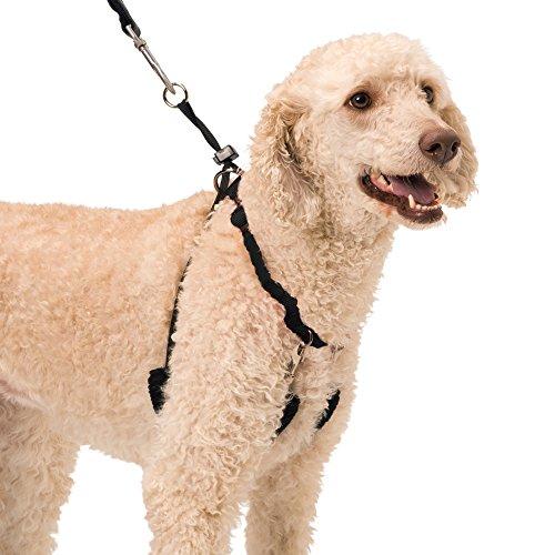 Dog Halter-non-pull no-choke Humane Pet training Halter Harness, easy step-in gilet collare cavezza per controllo, staccabile Restraints & Sherpa maniche, tecnologia brevettata Dog Pull Control by Sporn