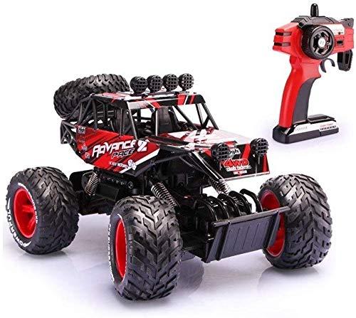 MECFIGH Wüste Gelände Climbing Driften Fahrzeug Gelände Monster Truck 1.16 High Speed   Fernsteuerungsauto- Bigfoot 4WD 2,4 GHz Funksteuerung Spielzeug-Kind-Geschenk