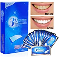 Aiooy 28PCS Teeth Whitening Strips Dental Enamel Safe Teeth Bleaching Treatment for Crystal Smile Non-Peroxide Whitener Kit Professional Remover of Teeth Stain Mint Flavor