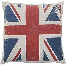 Cojín Londres UK Flag Vintage (50x 50cm) Multi & # & # x2022;; algodón