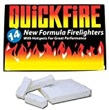 Fire Lighters Quickfire Firelighters Bulk Pack Hotspots Burners BBQ COAL LIGHTERS WOOD BURNERS