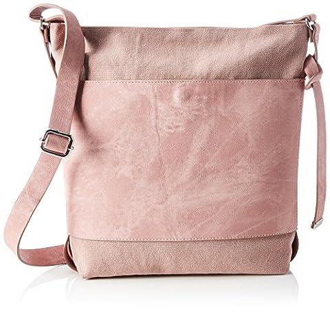 ESPRIT Damen 047ea1o0 Umhängetasche, Pink (Old Pink), 8x31x25 cm