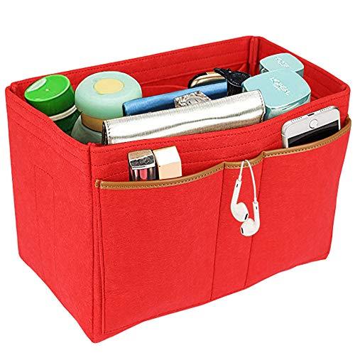 57987691c Lx-Top Felt Insert Bag Organizer Bolsa de Fieltro Organizador Insertar  Multi-Bolsillo Talladora