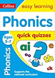Phonics Quick Quizzes Ages 5-7 (Collins Easy Learning KS1)