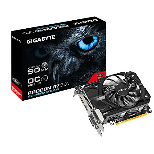 Price comparison product image Gigabyte GeForce GV-R736OC-2GD PCI Express Graphics Card–R73602GB OC R2.0GDDR52x HDMI, VGA, DVI, DisplayPort)