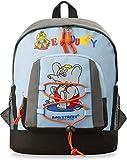 Kinder - Rucksack Markentasche Bag Street geräumige Schultasche Kindergartentasche (blau)