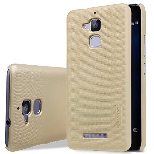 Msa Matte (ELTD Asus Zenfone 3 Max Hülle, Matte Cover Case / Hülle / Tasche/ Schutzhülle Für Asus Zenfone 3 Max 5.2 Zoll + 1 Crystal Displayschutzfolie, Gold)