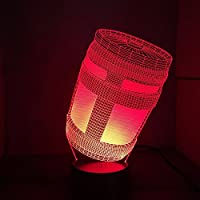 NIUBB 3D Game Chug Jug Night Light Lamp 7 Color Change LED Touch USB Table Gift Kids Toys Decor Decorations Christmas Valentines Gift Birthday Gift by NIUBB