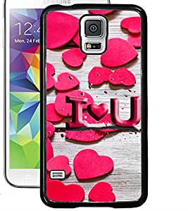 ColourCraft Love Pattern Design Back Case Cover for SAMSUNG GALAXY S5 NEO