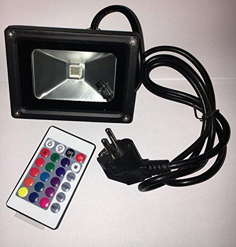 Projecteur LED 10 W RVB Projecteur