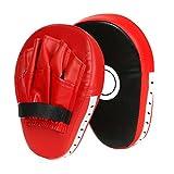 Cusfull Pad di Pugilato Kick Boxing Shield con Guanti per Club di Boxe Scudo in PU di Arti Marziali Muay Thai per Donna Uomo Bambino