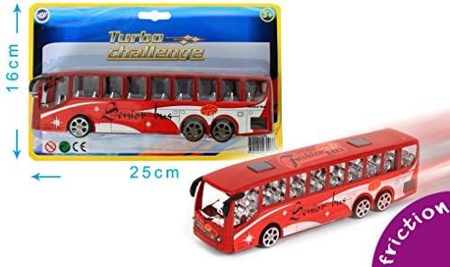 Bus Touristique à friction de 22 22 22 cm | Matériaux De Qualité  6ca46c