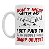 Best Gifts For Doctors - Doctor Funny Novelty Coffee Tea Cup Office Birthday Review