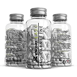 51rIoHx43LL. SS300  - AMINOTROPIC® Acetyl L Carnitine 1000mgs Per Servings 100 Capsules by Raw One | L Carnitine Boosts Cognitive and Athletic Performance | Powerful Nootropic | Made in The UK