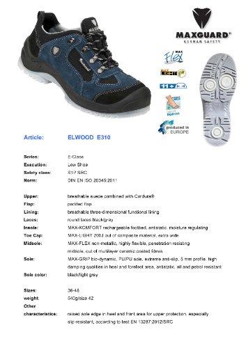 Maxguard e310 s1P chaussures bleu noir - Bleu/Noir