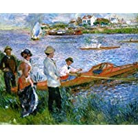 Comparador de precios Battle Road Press Oarsmen at Chatou 500 Plus Piece Pierre Auguste Renoir Jigsaw Puzzle by Battle Road Press - precios baratos