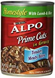 Alpo Prime Cuts in Gravy Canned Dog Food, Lamb & Rice, 13.2 oz by Purina ALPO Brand Dog Food