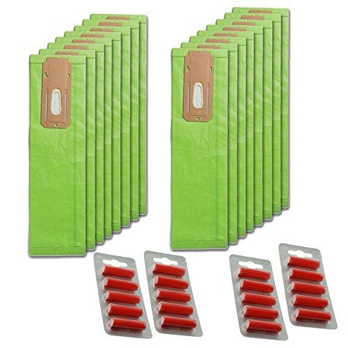 spares2go aufrecht CC Typ Staub Staubbeutel für Oreck Staubsauger (16Stück + Lufterfrischer) (Oreck Staubsauger Beutel Typ Cc)