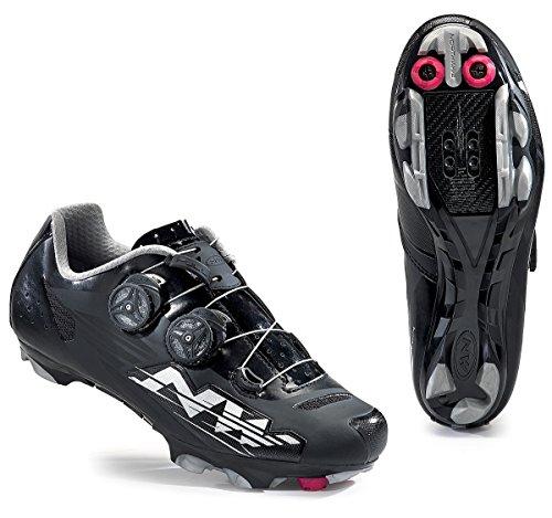 Northwave Blaze Plus Damen MTB Fahrrad Schuhe schwarz/silber 2016: Größe: 39