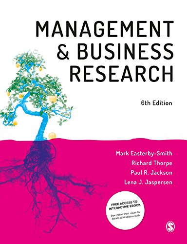 Management and Business Research (English Edition) por Mark Easterby-Smith