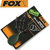Fox Edges Tungsten Line Guard Beads - 8 Gummiperlen zum Karpfenangeln, Gummistopper zum Angeln auf Karpfen, Knotenschützer