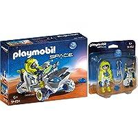 Playmobil® Space 2pcs. Set 9491 9492 Mars Trike + Astronaut and Robot