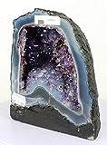 Geode Amethyst Cluster Amatista/Geoda Natural del Brasil - Calidad Extra/Medidas/Measures: 2,95 KG - 17 x 14,5 x 10 CM