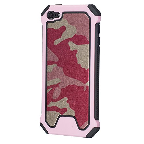 Moly iPod Touch 5. Fall/iPod Touch 6. Schutzhülle, Moly Beautiful Camo Style Hybrid 2Schicht Silikon Schale Hard Case Cover für iPod Touch 5./6. Generation