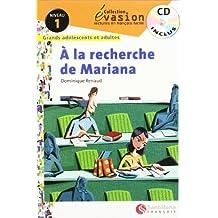 EVASION NIVEAU 1 A LA RECHERCHE DE MARIANA + CD (Evasion Lectures FranÇais) - 9788496597587