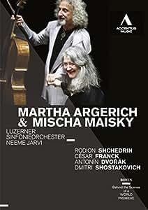 Martha Argerich & Mischa Maisky (R. Shchedrin, C. Franck, A. Dvorák, D. Shostakovich)