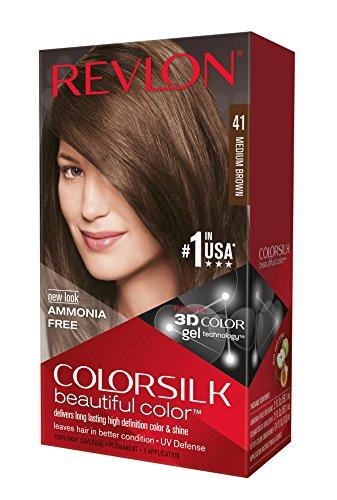 revlon colorsilk coloration permanente n41 medium brown - Coloration Revlon